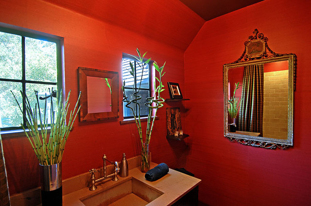 asian bathroom by Mark Dodge Design