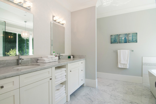Country modern farmhouse contemporary bathroom vancouver by