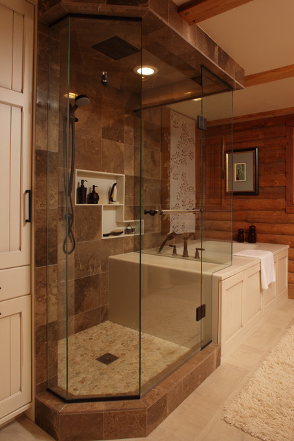 Country Oasis traditional-bathroom