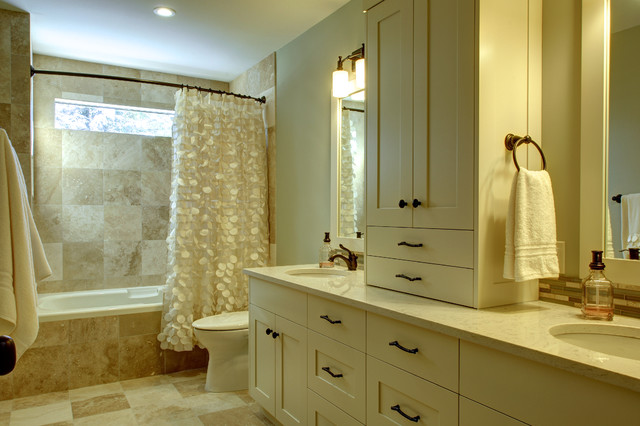 Country residential renovation traditional bathroom for Bathroom remodel utah county