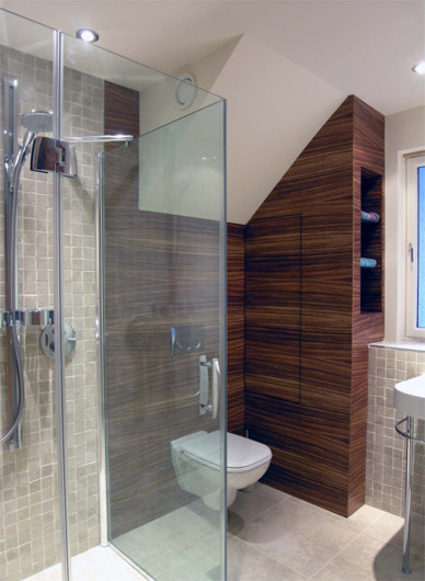 Courtyard House Bearsden Scotland Modern Bathroom Glasgow By N5 Architecture