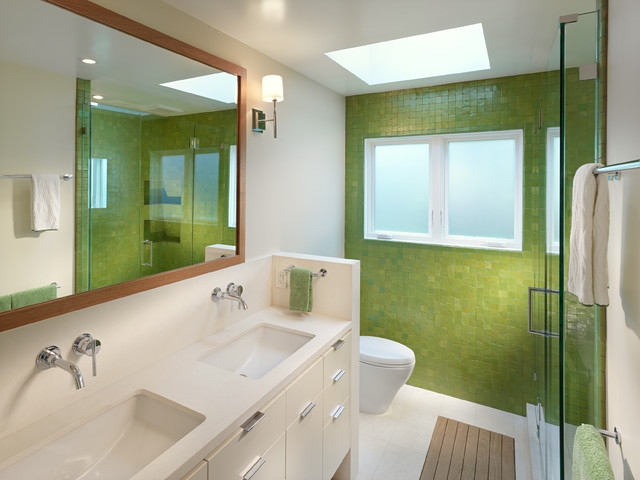 Cove Road Residence contemporary-bathroom