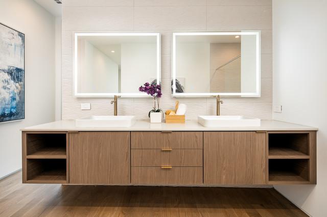 Inspiring Double Vanity Setups, 4 Foot Bathroom Vanity