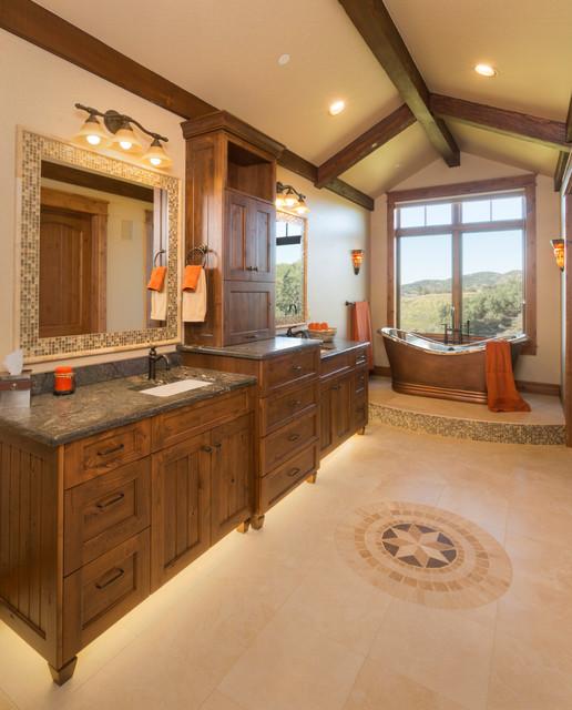 Cowboy Up farmhouse-bathroom