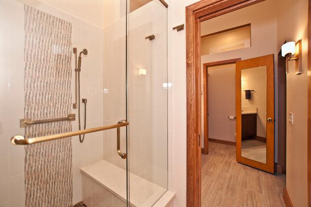 Cozy Contemporary - Contemporary - Bathroom - nashville - by Terri Sears, Kitchen and Bath Designer