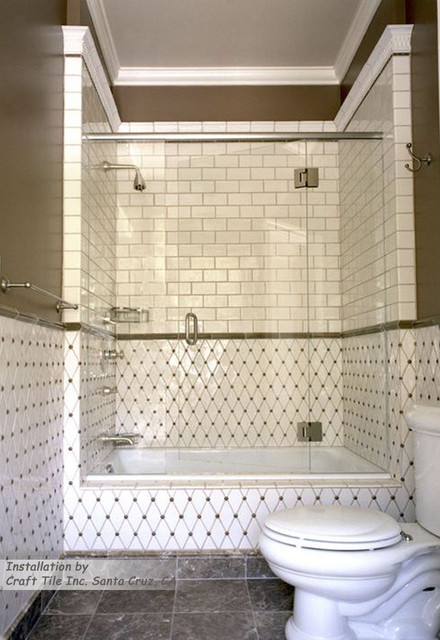 Craft Tile Of Santa Cruz Ca Traditional Bathroom San Francisco By Gallery Of Tile And Stone