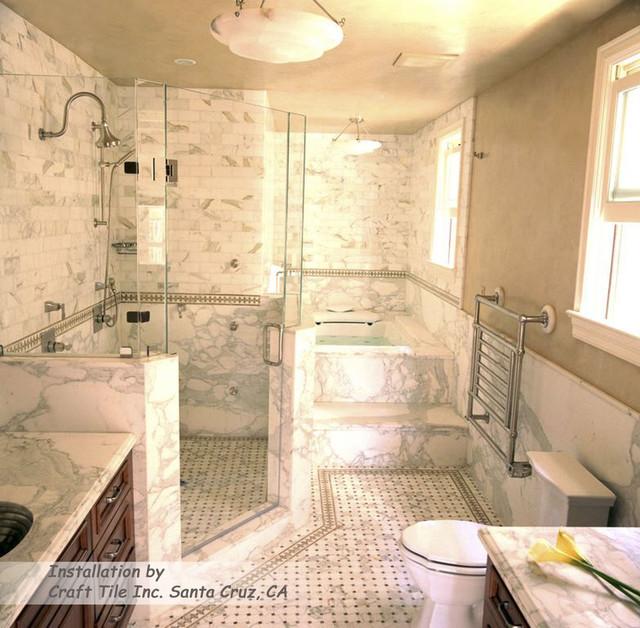 Craft Tile Of Santa Cruz Ca Contemporary Bathroom San Francisco By Gallery Of Tile And Stone