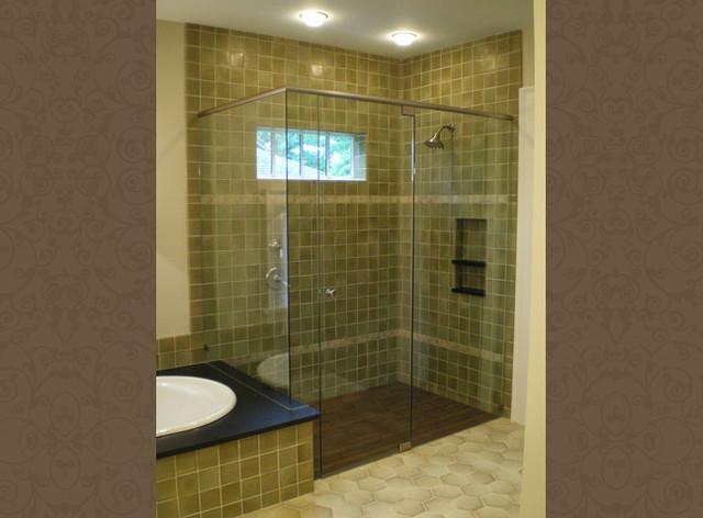 Craftsman Style Bathroom Tile : Craftman bathrooms