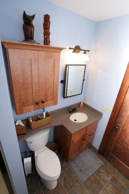 Craftsman bathroom craftsman bathroom chicago by a for Craftsman bathroom pictures