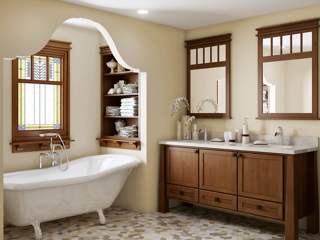 Bathroom Remodel Seattle craftsman bathroom remodel - craftsman - bathroom - seattle -
