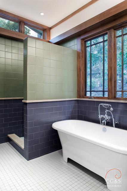 Craftsman Done Right craftsman-bathroom
