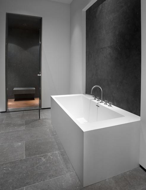 Craftsman Laguna Residence contemporary-bathroom