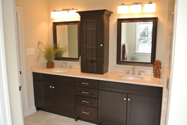 Custom Bathroom Vanities Richmond Va craftsman style home interiors - craftsman - bathroom - richmond