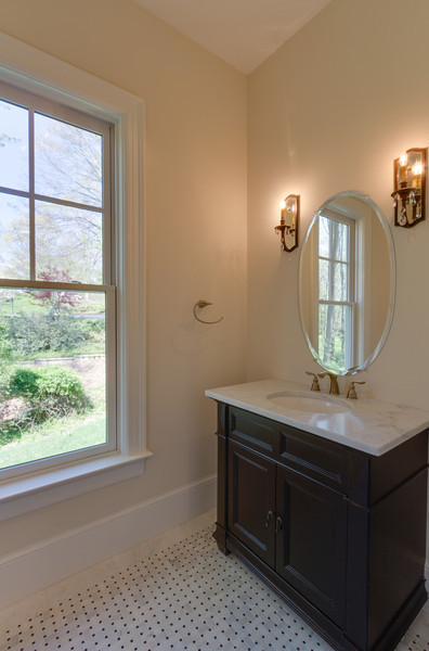 Craftsman Style House Bathroom : Craftsman style home traditional bathroom dc metro