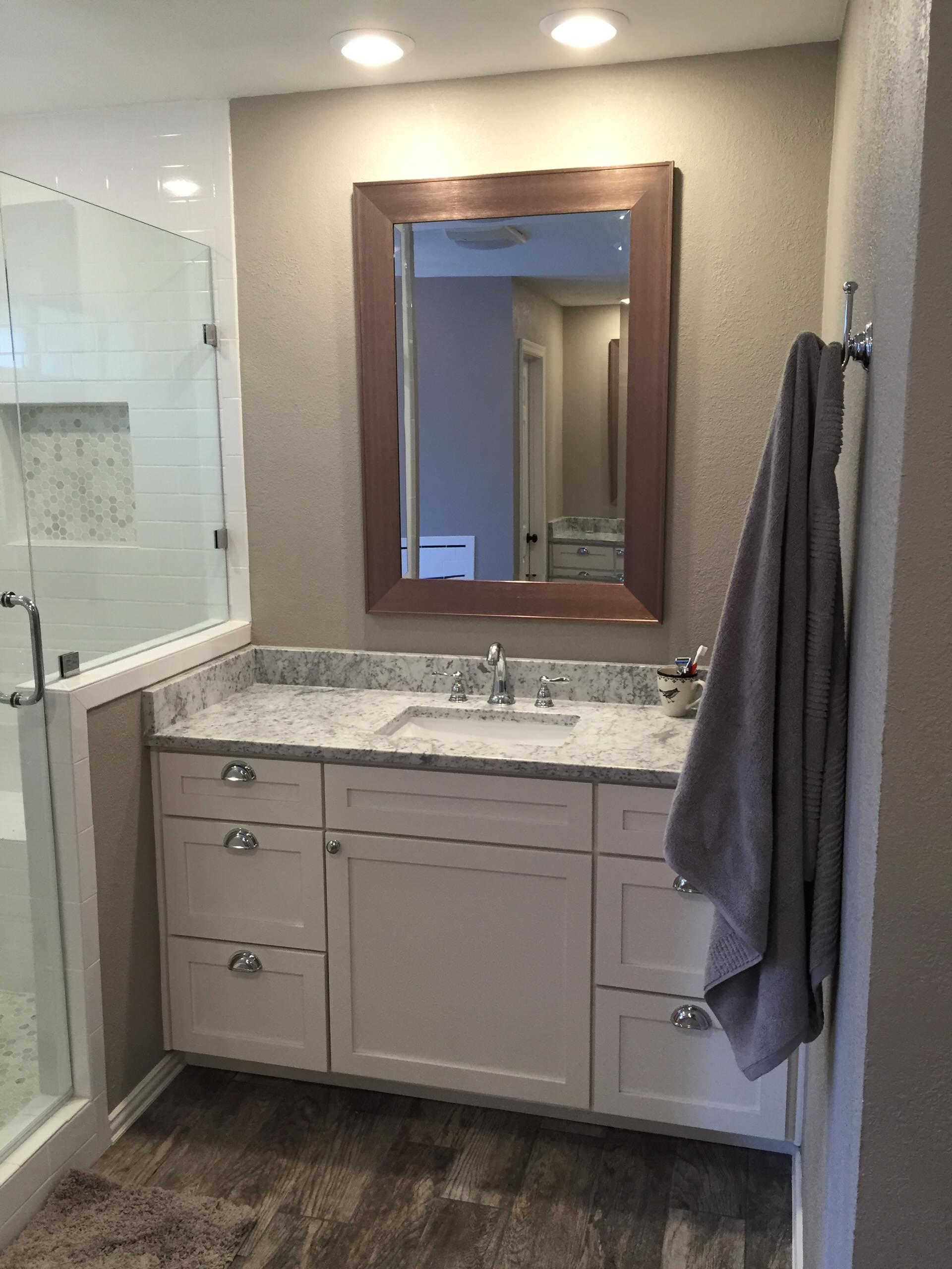 Craftsman Style Plano Master Bath