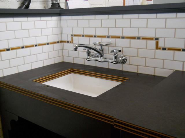 Craftsman Style Bathroom Tile : Craftsman style bathroom portland by pratt and larson ceramics
