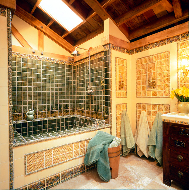 Craftsman Style Bathroom