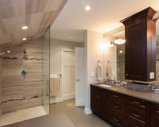 Taupe Bathroom Tile Home Design Ideas Pictures Remodel