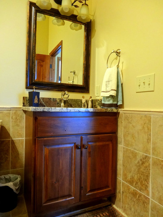 Knotty Alder Bathroom Cabinets Home Design Ideas Pictures Remodel And Decor