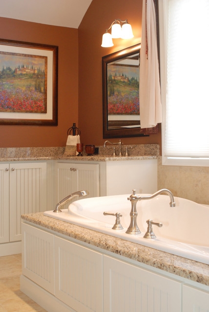 Cranbury Design Center Traditional Bathroom