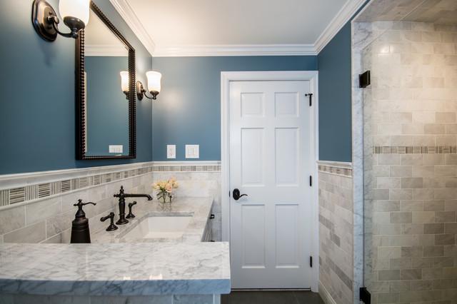Cranston Ri Hall Bath Remodel Traditional Bathroom