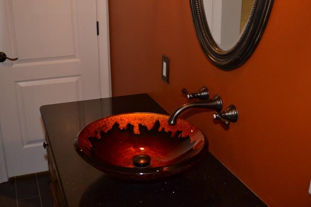 Crawford's Ridge Basement Bath traditional-bathroom