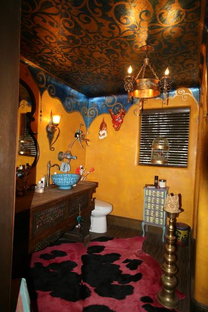 Crazy bathroom eclectic bathroom other by kc design for Crazy bathroom designs