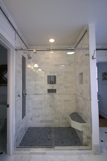 Creating Space traditional-bathroom