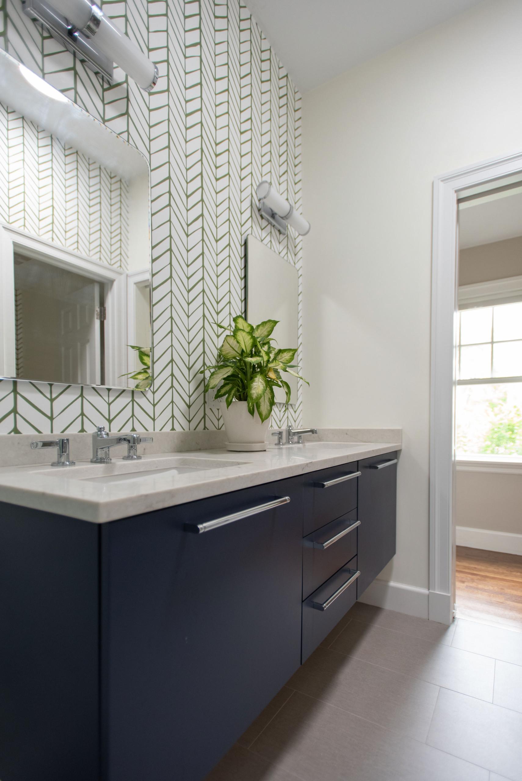 Creative Winchester Guest Bathroom