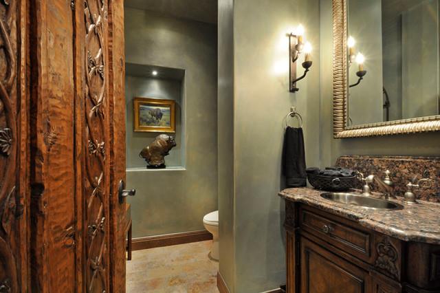 Creekside - Mediterranean - Bathroom - austin - by Rick O ...