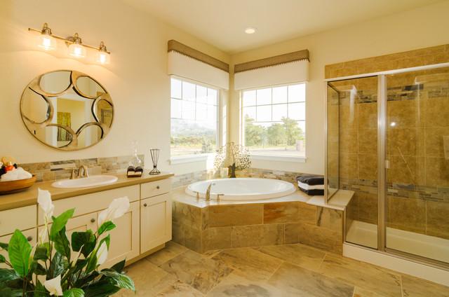 CreekStone Homes (The Chapman) traditional-bathroom