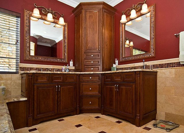 Creve couer bath remodel traditional bathroom st for Bathroom remodeling st louis