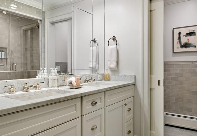 Crisp Architects traditional-bathroom