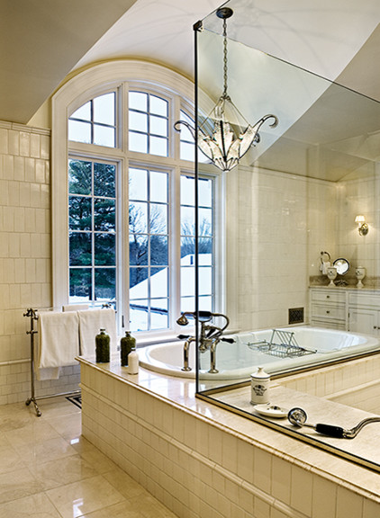 Crisp Architects traditional-bathroom