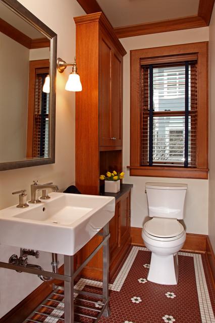 Crocus Hill Kitchen Craftsman Bathroom Minneapolis By Full Circle Construction Inc