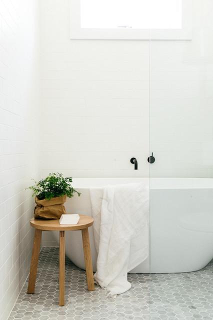 Cross St Scandinavian Bathroom