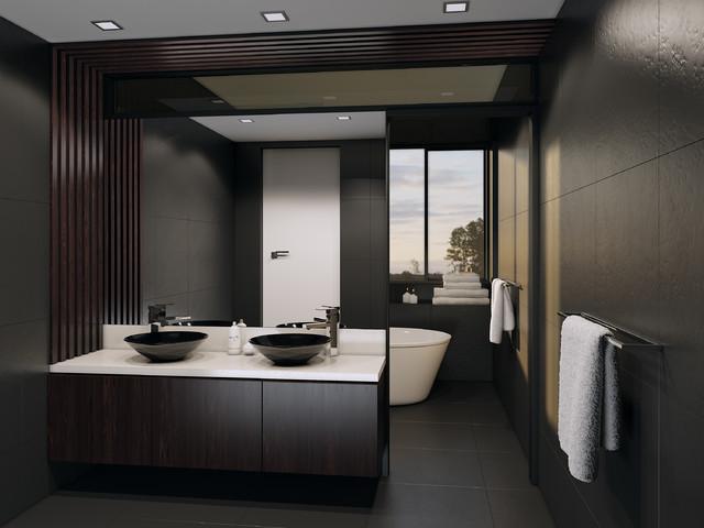 Croydon melbourne modern bathroom melbourne by for Bathrooms r us melbourne