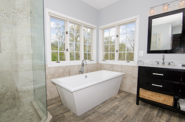 Crystal Blue Persuasion eclectic-bathroom