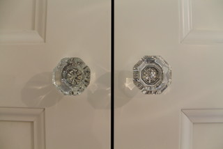 Crystal door handles traditional bathroom chicago by change design - Change your old bathroom to traditional bathrooms ...