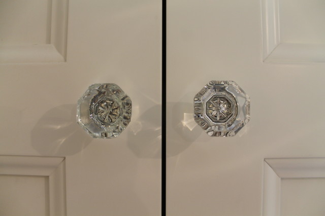 Crystal Door Handles   Traditional   Bathroom   Chicago   By Change ...