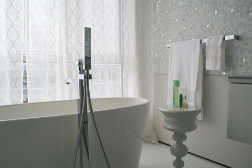 Sszegz s a feh r mozaik mi is az a mozaik for Bathroom design montreal
