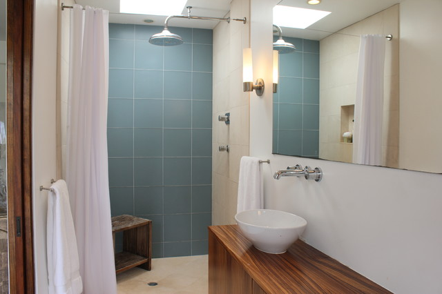 modern bathroom by JAC Interiors