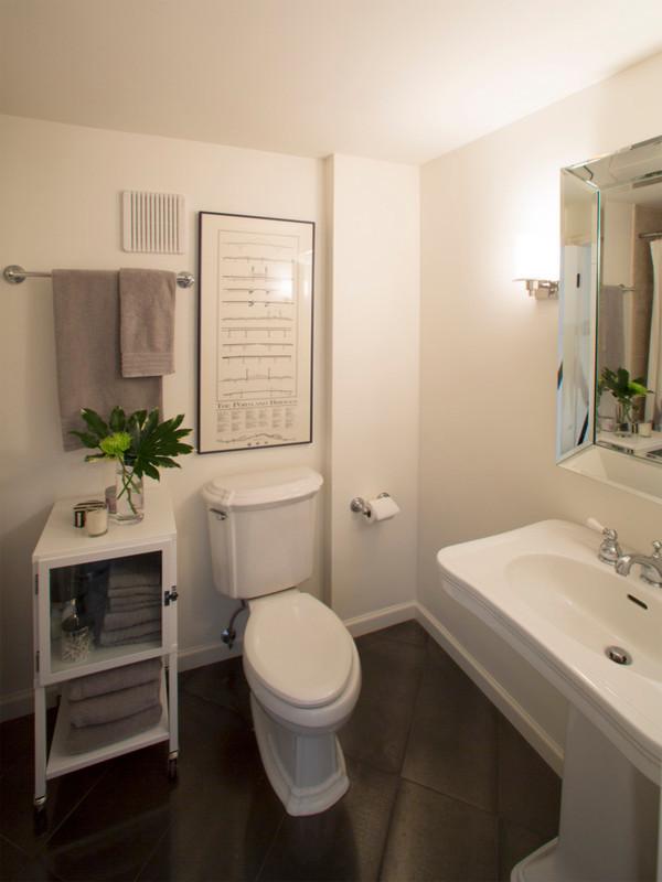Cumberland Basement Remodel - Transitional - Bathroom ...