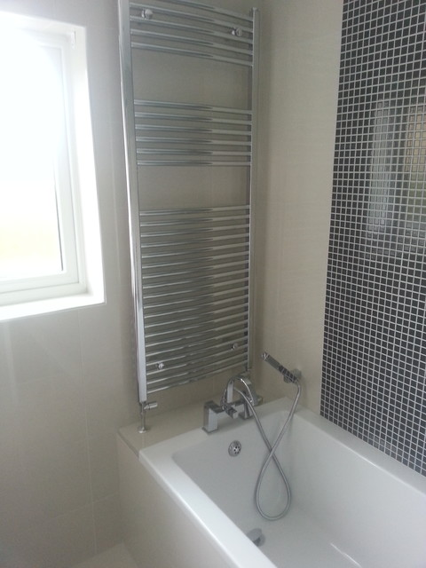Curved Bathroom Furniture contemporary-bathroom
