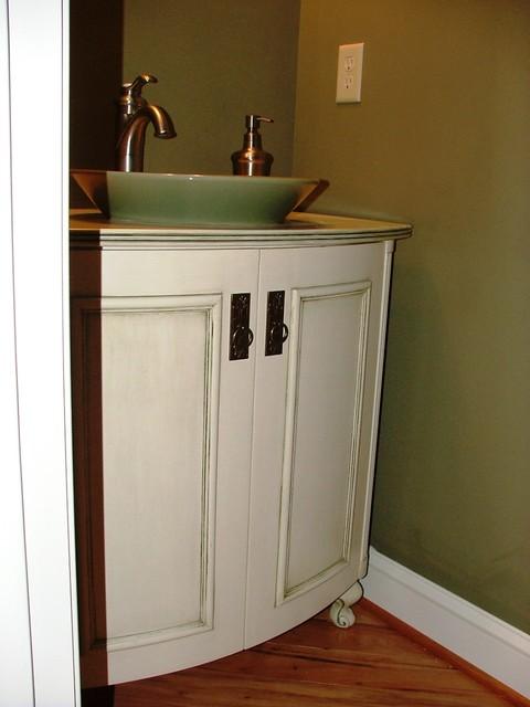 Curved Bathroom Vanity Cabinet  YouTube