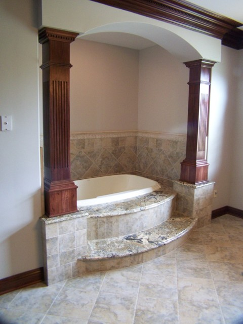 Custom Accents traditional-bathroom