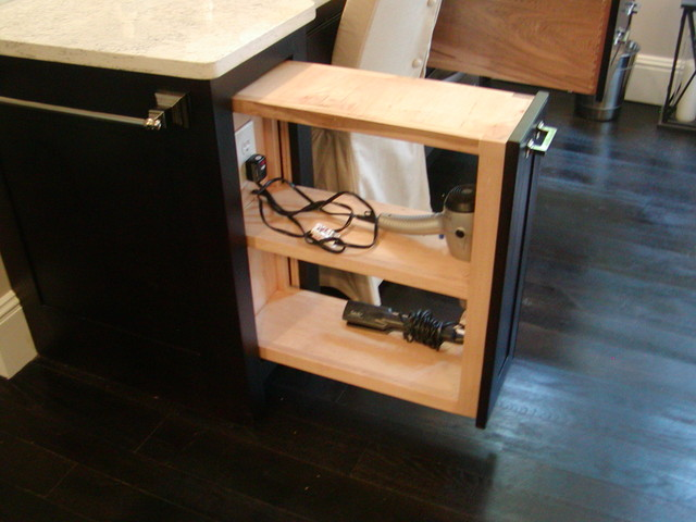 Custom all wood Cabinets contemporary-bathroom