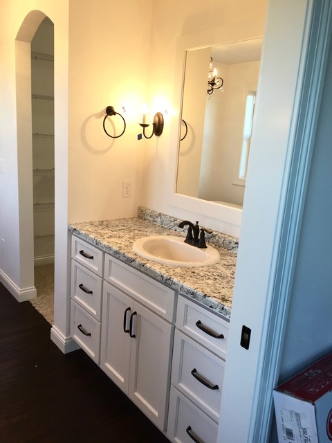 Model Clark Master Bath Bathroom Remodel Renovation Vanity Greenville SC