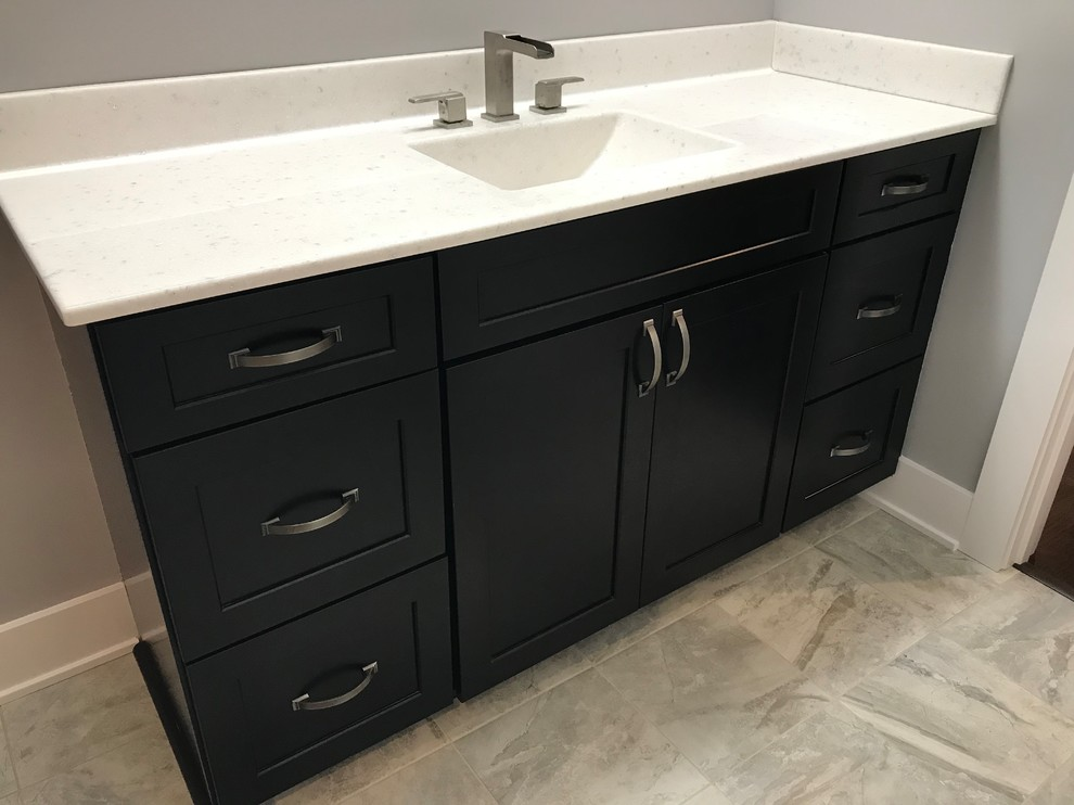 Custom Amish Cabinetry And Waypoint Cabinetry Extra White