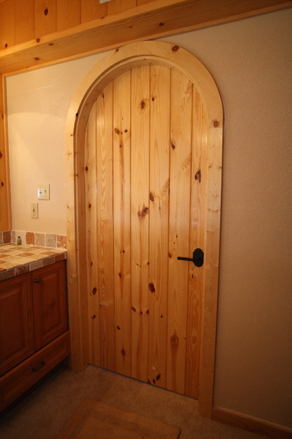 Custom Arched Interior Door